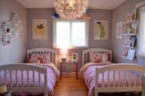 Dětský pokojíček pro vaše holčičky - ilustrační obrázek, zdroj