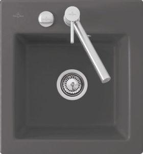 Dřez Villeroy & Boch Subway XS 48x51 cm grafit 678101I4