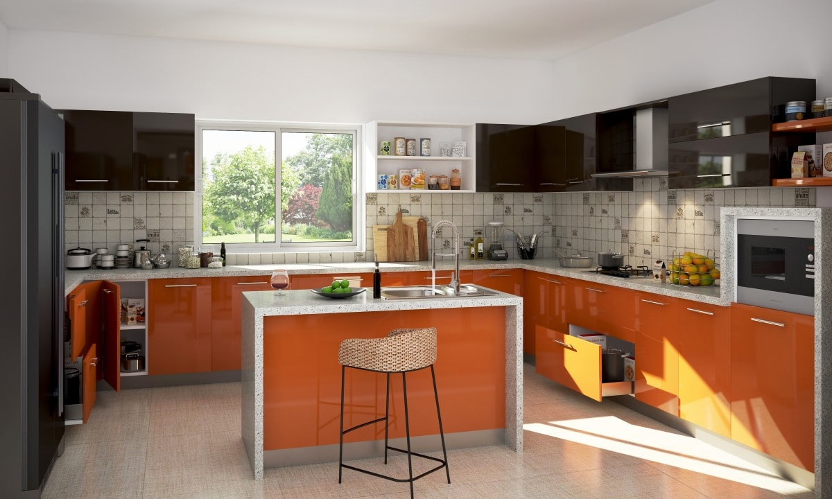modular kitchen designs and price oranžov 225 kuchyňsk 225 linka proč je st 225 le v kurzu home look 9270