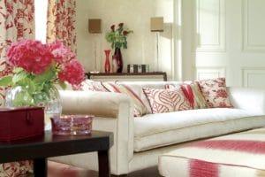 Obývací pokoj ve stylu feng-shui