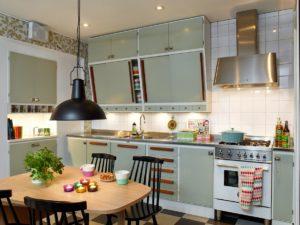 Kuchyně v retro stylu - zdroj