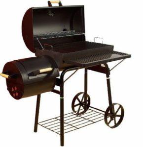 Garthen 2344 BBQ gril na dřevěné uhlí, extra velký 32 kg