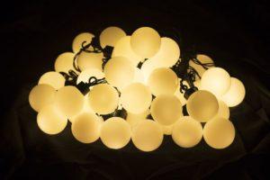 Garthen 32793 Zahradní párty osvětlení - venkovní, 40 LED, teple bílá