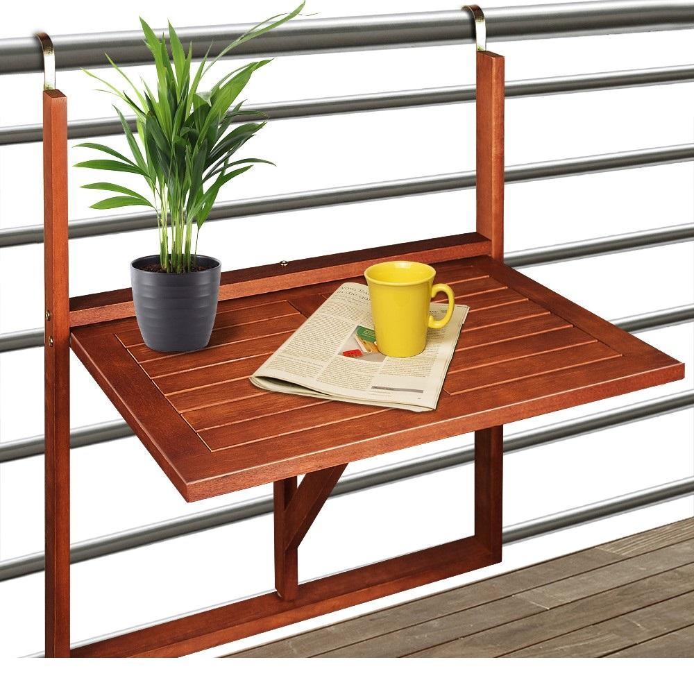 Závěsný balkónový stůl D2331 Dekorhome