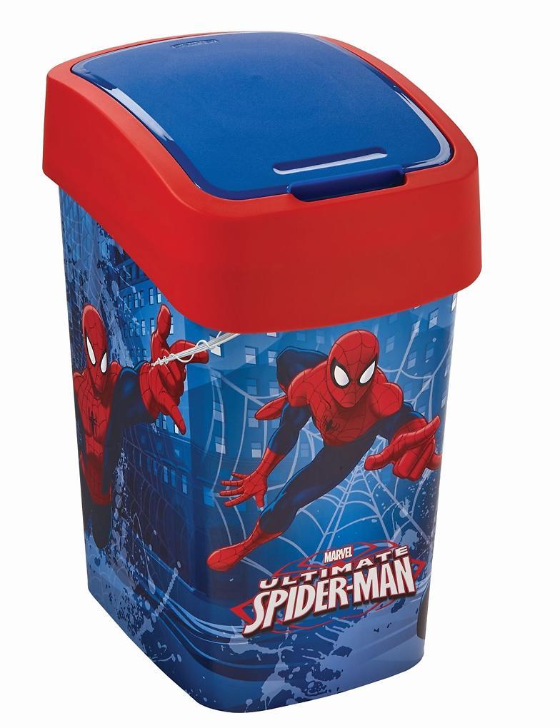 Odpadkový koš PACIFIC FLIP BIN 25L Spiderman