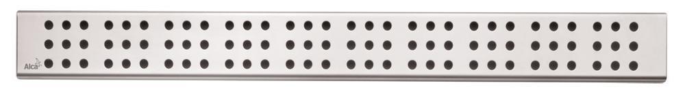ALCAPLAST-CUBE-550L rošt podlahového žlabu lesklý (CUBE-550L)