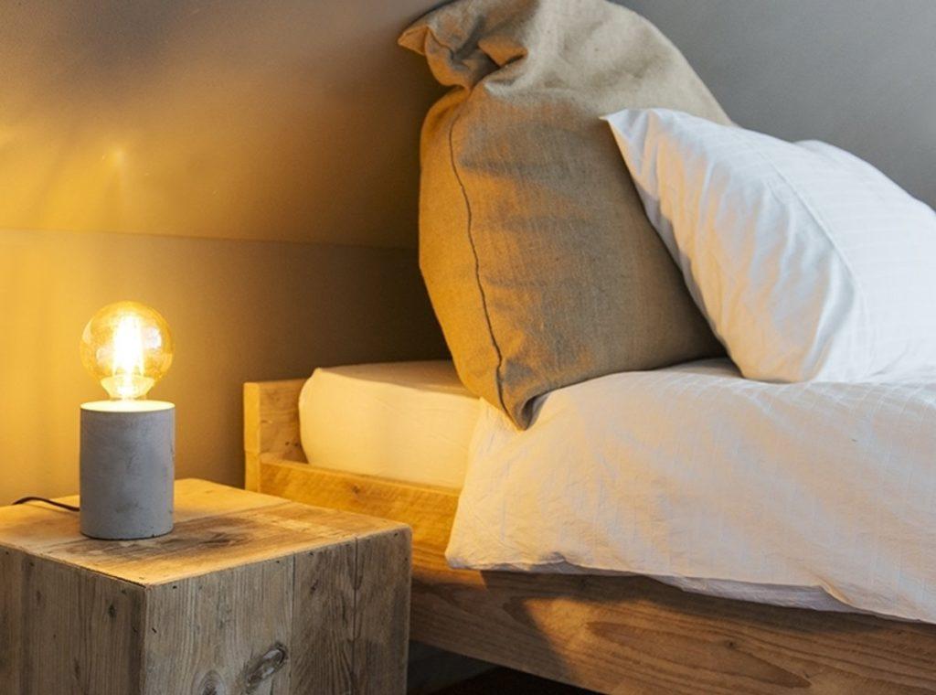 Stolní lampa Bloque Beton
