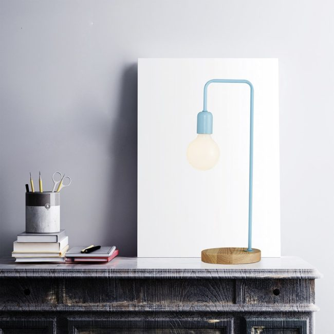 Stolní lampička Ozcan 4056-ML blue