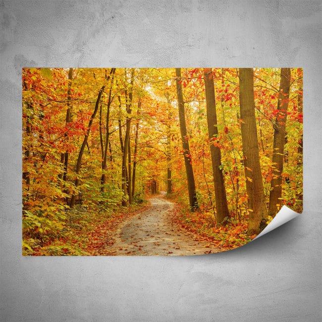 Plakát - Žlutý les (60x40 cm) - PopyDesign