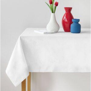 Bavlněný ubrus bílý II.jakost Rozměr: 145 x 120 cm, Gramáž: 150 g/m2