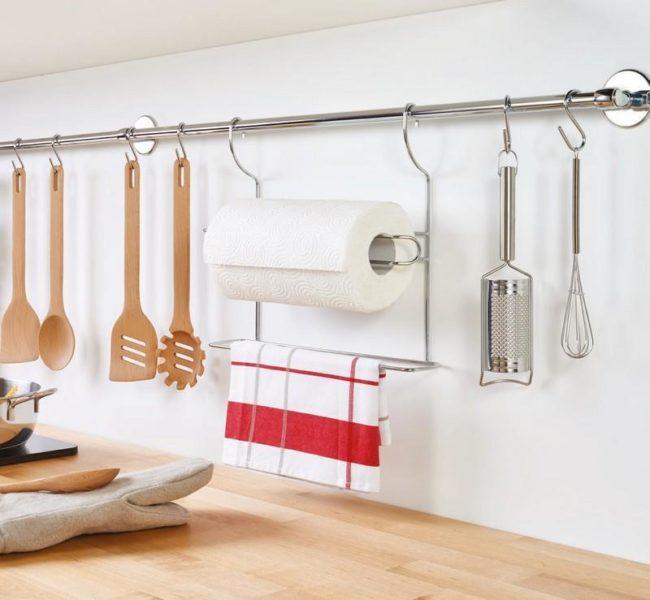Kuchyňská závěsná tyč (58 cm) Lonardo 350304010
