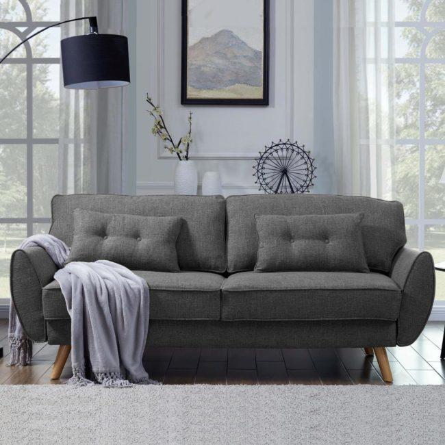 Rozkládací sofa/postel Vanta - Šedá