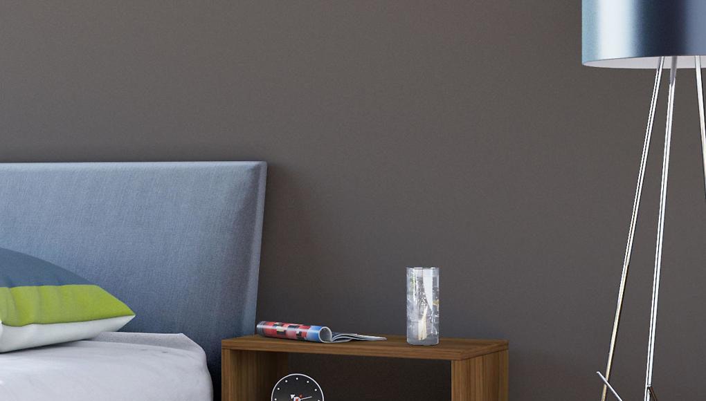 242882 vidaXL Noční stolek hnědý